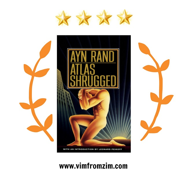 Atlas Shrugged Book Review - VimfromZim